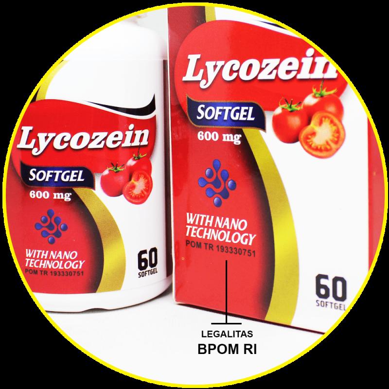 Lycozein Softgel Obat Kanker Prostat - 100% HERBAL